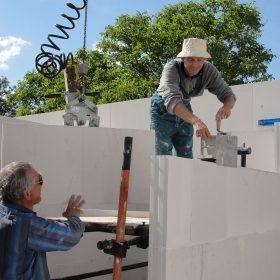 Vápenopískové zdicí systémy při stavbě rodinného domu