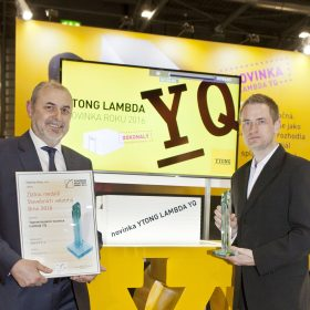 Novinka od Ytongu Lambda YQ získala další ocenění na Stavebním veletrhu IBF 2016