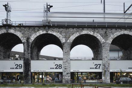 Starý viadukt – živé místo Curychu