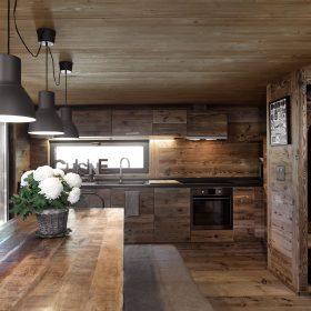 Ze stodoly třípokojová dřevostavba