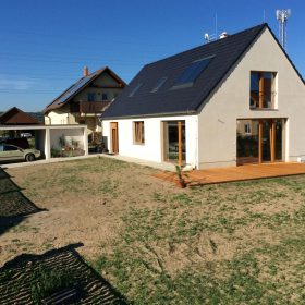 Soutěž Pasivní dům vyhrála stavba z jednovrstvé konstrukce HELUZ Family 2in1.