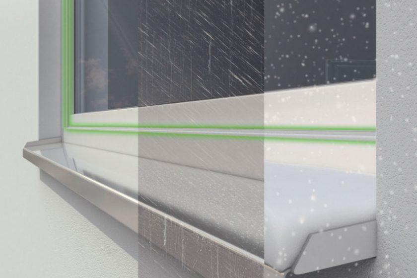 Schüco LivIng je tepelně izolovaný systém pro plastová okna a dveře