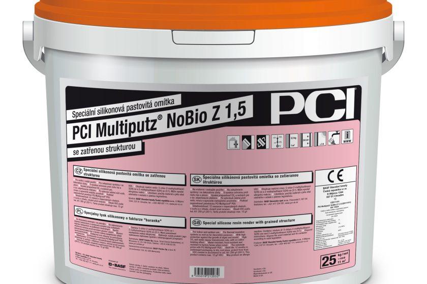 Dokonale odolná omítka PCI Multiputz® NoBio Z