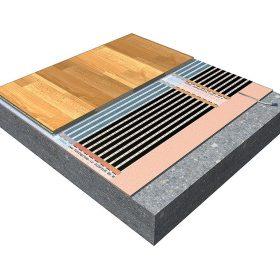 Vytápěcí podlahová fólie