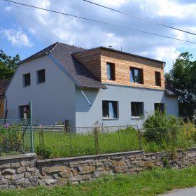 Venkovské stavení z 50. let se proměnilo v pasivní dům
