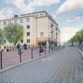 Ulice Bělohorská v novém