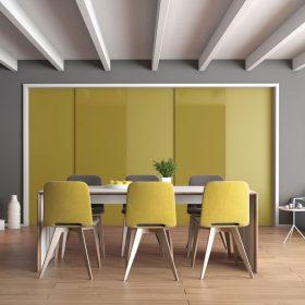 Nová paleta barev lakovaných skel ukazuje cestu budoucího vývoje voblasti designu