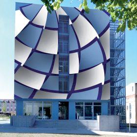 Vítězný návrh fasády