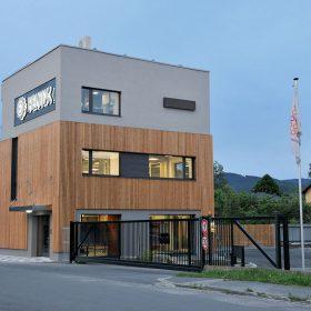 Nová administrativní budova FENIX Group v Jeseníku