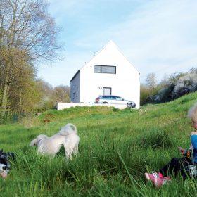 Realizace betonového domu vOtvovicích