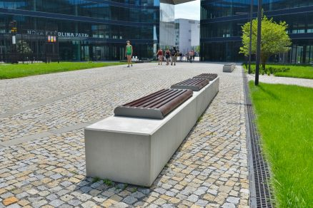 Městský mobiliář PRESBETON pro Váš projekt