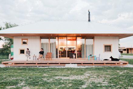 Víkendový bungalov u jezera