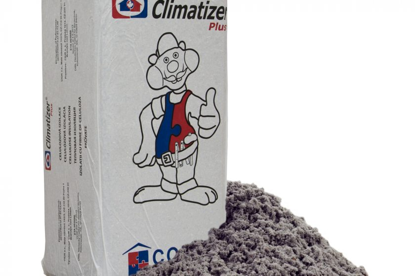 Přírodní foukaná izolace Climatizer Plus přináší teplo i chlad