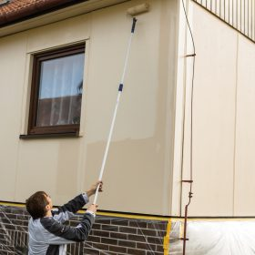 Renovace fasády pomocí renovační barvy
