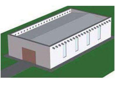 Návrh bezpečnostního odvodnění střech