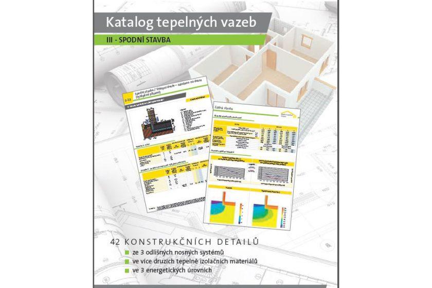 ISOVER vydal nový Katalog tepelných vazeb III. - Spodní stavba