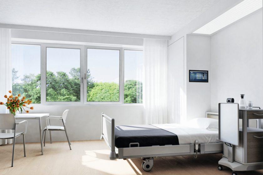 Okna a kliky od Schüco s antimikrobiálním účinkem