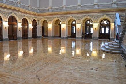 Rekonštrukcia podláh oživila Rudolfinum