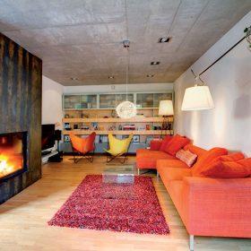 Beton přispívá k vnitřní tepelné stabilitě objektů