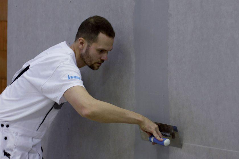Systém suché výstavby do vlhkých a mokrých místností