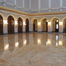 Rekonstrukce podlah vRudolfinu