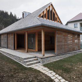 Víkendový dům ve stylu valašských chalup