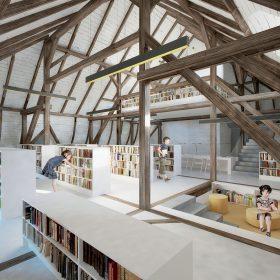 Čtenářská zahrada - Dostavba chebské knihovny