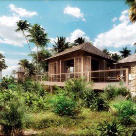 Hotel na Zanzibaru podle návrhu českých architektů