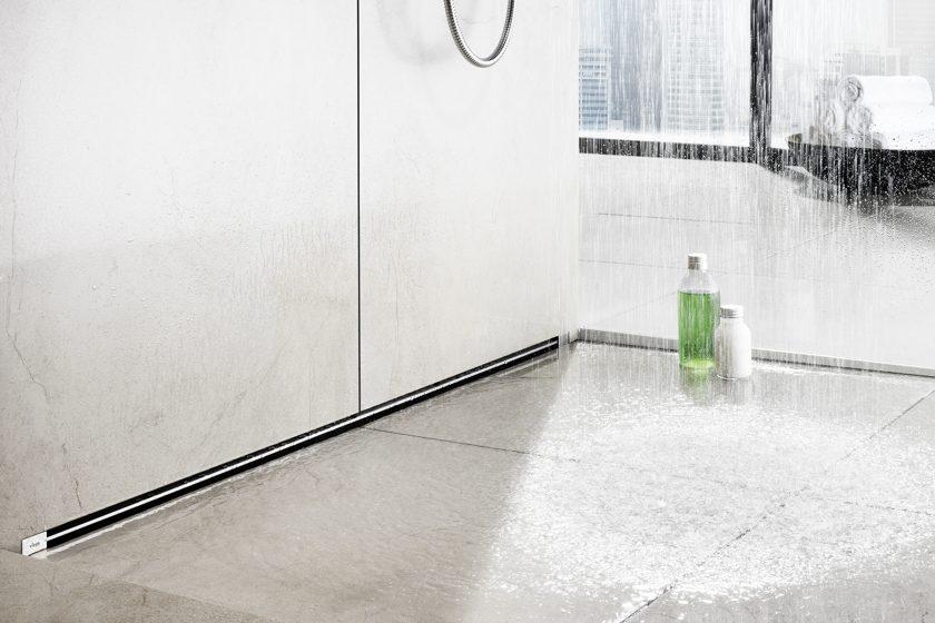 Nejelegantnější sprchový odtok vody