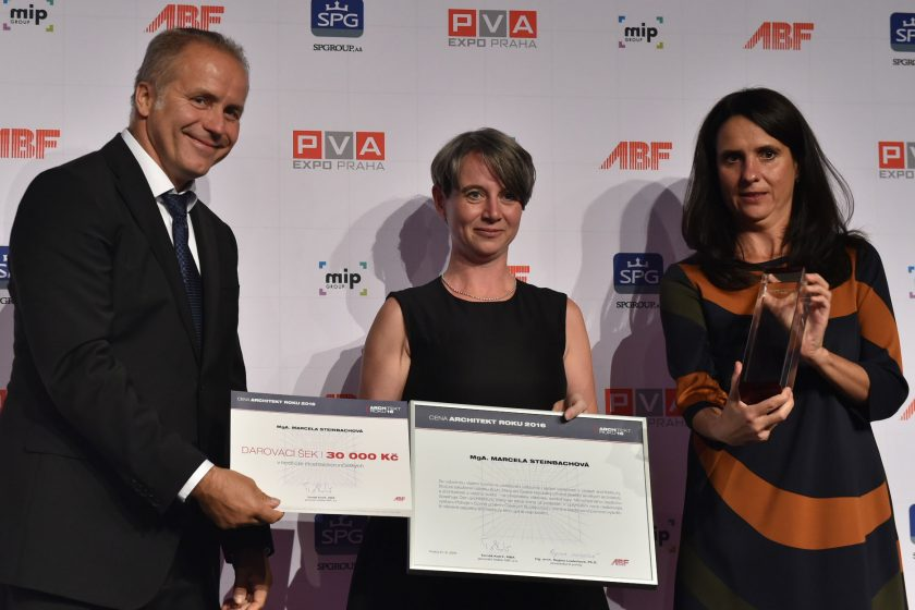 Architektkou roku 2016 se stala Marcela Steinbachová