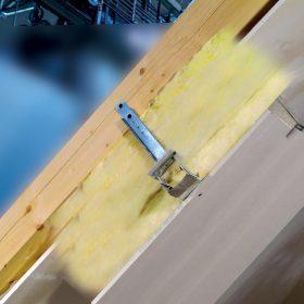 Aplikace zateplovacího systému v podkroví s využitím krokvového nástavce