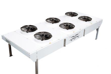 Systém úsporného chlazení za pomoci nízké teploty venkovního vzduchu