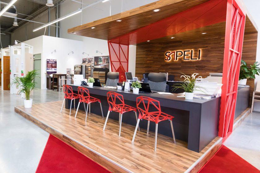 SAPELI CENTRUM v Brně v novém designu