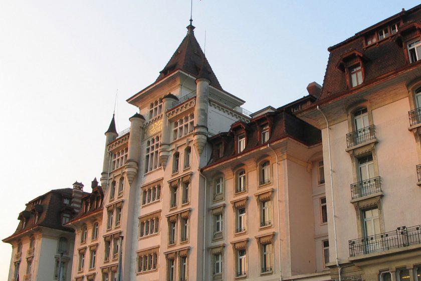 Královská relaxace v hotelu Royal Savoy v Lausanne