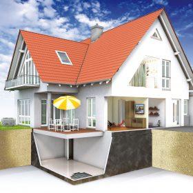 Utěsnění spodní stavby asfaltovým polymerem modifikovaným tmelem
