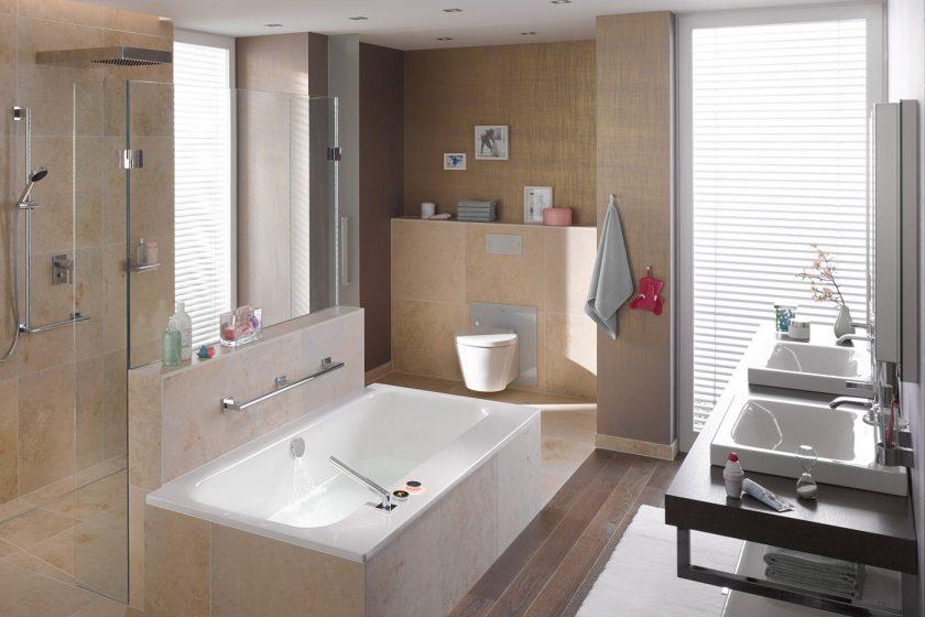 Při plánování koupelny přemýšlejte několik let dopředu: Koupelny pro méně stresu