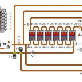 Možnost akumulace energie ve formě tepla a chladu do akumulačních panelů