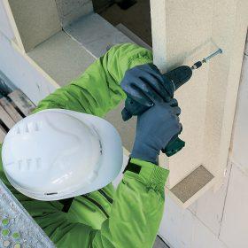Instalace okna do prostoru tepelné fasádní izolace