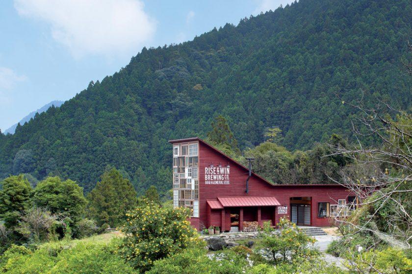 Ultra-recyklovaný dům: Japonský pivovar