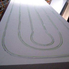 Interiérové tepelně aktivní panely s integrovanou aktivní plochou