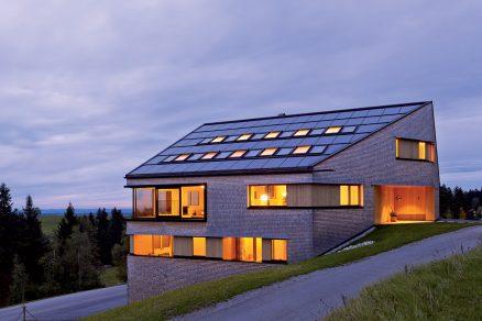 Rodinný dům kompletně zhotovený ze dřeva