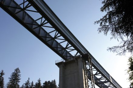 Spřažené mosty Vŕšok a Čadečka na dálnici D3