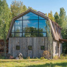 Moderní stodola v retro stylu