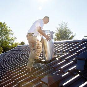 Osazení světlovodu do šikmé střechy