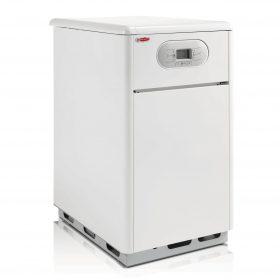 Stacionární plynový kotel ENBRA CD/Z40S umožňuje ohřev teplé užitkové vody v kondenzačním režimu