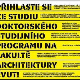 FA ČVUT přijíma uchazeče do doktorského studia