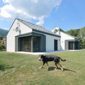 Originální bungalov s nádherným výhledem v Beskydech