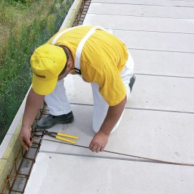 Montážní postup: strop z dílců