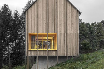 Dům v alpské krajině