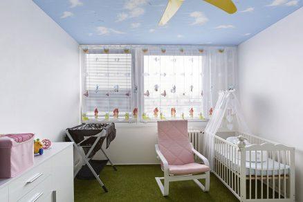 Dětský pokoj v paneláku